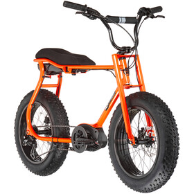 "Ruff Cycles Lil'Buddy 20"" Bosch Active Line 500Wh, bright red orange"